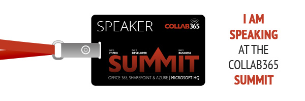 My Presentation from the COLLAB365 Summit 2016